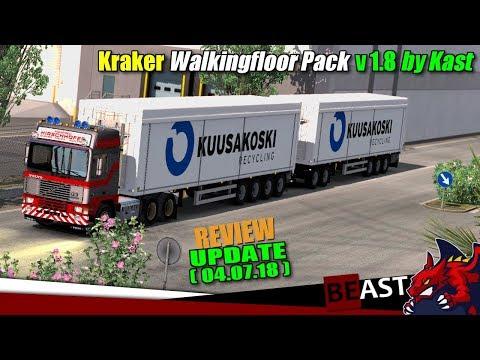 Kraker Walkingfloor Pack v1.8 by Kast [1.31.x]