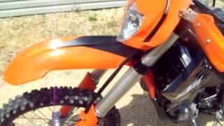 3. 2009 KTM 450 EXC