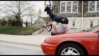 Guy Doing Amazing Bike Tricks
