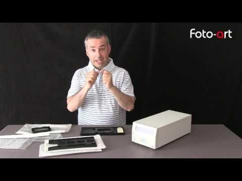 Minolta Dimage scan multi pro film scanner - i video di Foto Art