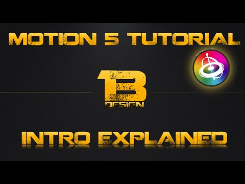 motion 5 tutorial shining - This video is Part 1 of a 2 part video showing how to create a motion 5 intro. This video will show you how to: * Create a motion 5 intro * Create a backgrou...