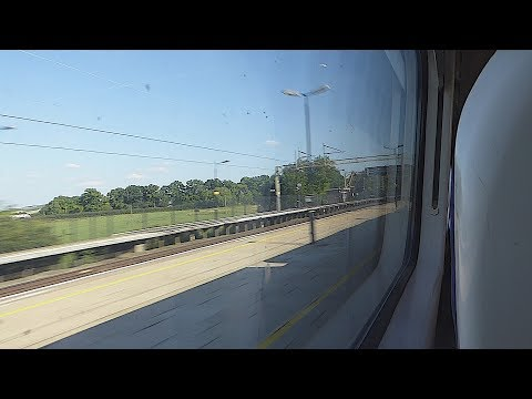 Passing Cheddington & Tring on a Virgin Trains 'Pendolino' (5/7/17)