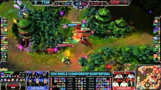 TSM Lustboy Fail Nami Flash Juke - TSM VS SSW - S4 Worlds LoL MomentsLeague of Legends LCS HighlightsLike us on Facebook : http://on.fb.me/1k7FA5oFollow us on Twitter : http://bit.ly/1pFYvk4Google+ : http://bit.ly/1rGSdDCIf you want to see more League of legends highlights, Please hit the subscribe button for more entertainment. :)Partner with Freedom! ➜ http://www.freedom.tm/via/LoLLCSHighlights07 - Be free.Get more views!➜ http://www.freedom.tm/grow - Grow with us.Become a network!➜ http://www.freedom.tm/network