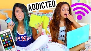 Night Routine! FOR THOSE ADDICTED TO THE INTERNET by Niki and Gabi