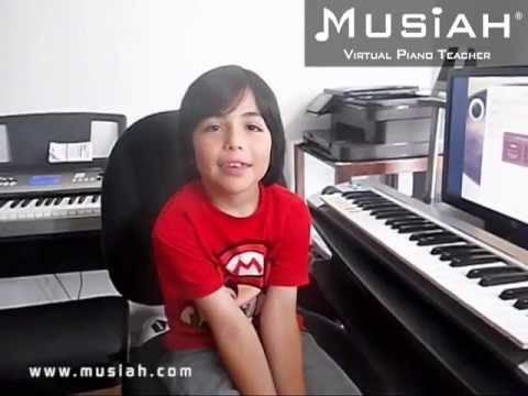Piano Video: Online Piano Lessons Song #20 Indian Dance played by Joshua