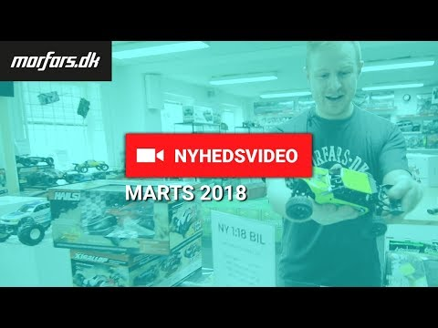Fjernstyrede nyheder fra Morfars.dk Marts 2018