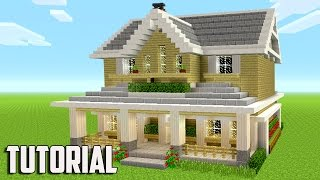 Minecraft: How To Build A Suburban House - Minecraft Tutorial 2017