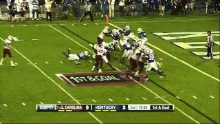 Marcus Lattimore vs Kentucky 2012