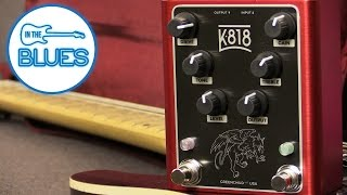Greenchild K818 Dual Overdrive Pedal - Made in the USA