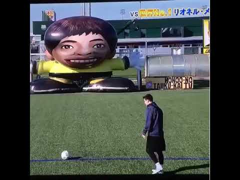Robot goalie can't stop Messi