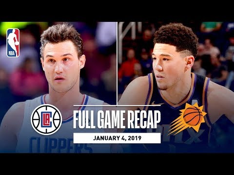 Video: Full Game Recap: Clippers vs Suns | Danilo Gallinari and Lou Williams Shine in Phoenix