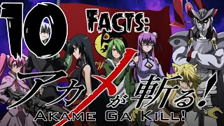 Video Top 10 Facts - Akame Ga Kill! MP3, 3GP, MP4, WEBM, AVI, FLV Agustus 2018