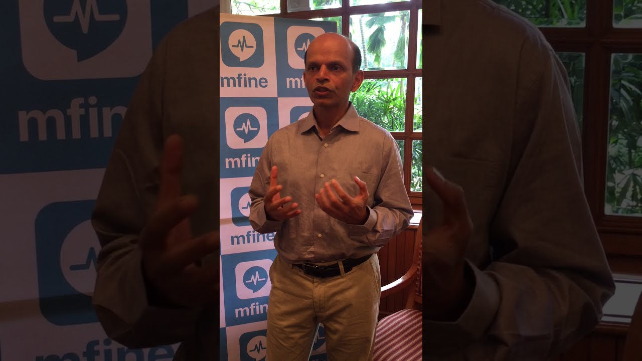 Shripati Acharya shares his views on the latest startup in our porfolio-mfine