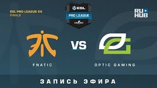 Fnatic vs OpTic Gaming - ESL Pro League S6 Finals - map1 - de_inferno [CrystalMay, SleepSomeWhile]