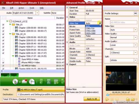Xilisoft DVD Ripper Ultimate free trial