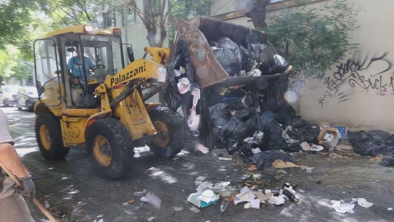 Αποκομιδή αποριμμάτων στην Αθήνα