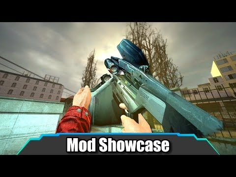 Garrys Mod - These Are The Most Realistic HL2 Weapons Ever!  Garry's Mod  Mod Showcase