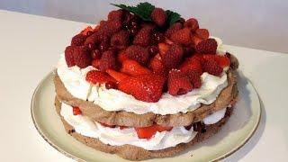 Pavlova Chocolat-Fruits rouges