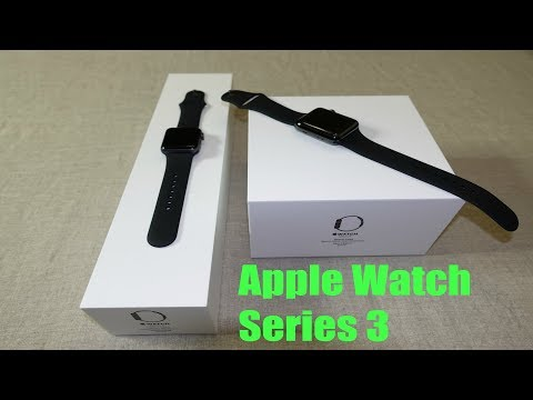 Apple Watch Series 3 GPS + Cellular Unboxing/Review