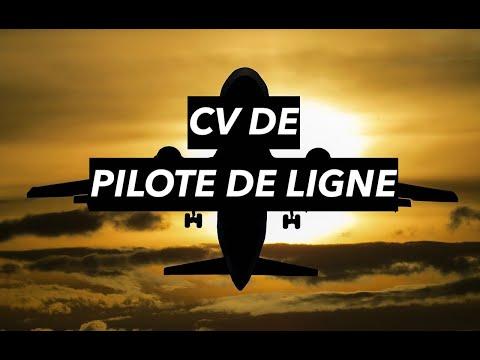 Comment rédiger un CV DE PILOTE DE LIGNE ?