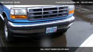 1993 Ford F150  - for sale in Forest Grove, OR 97116
