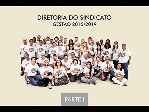 Diretoria do Sindicato gestão 2015-2019 parte1
