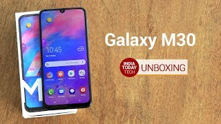 Galaxy M30 Unboxing and First Look: What's Better than M20? | India Today Tech