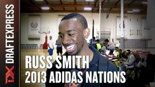 Russ Smith - 2013 adidas Nations - Interview