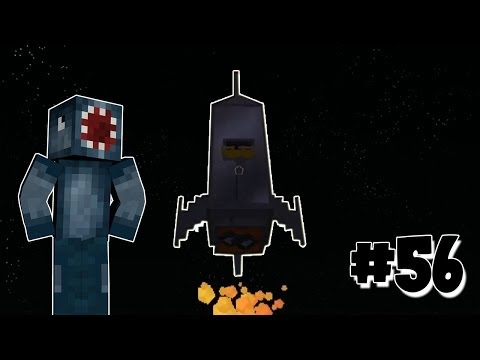 Minecraft race to the moon squid to the moon 56