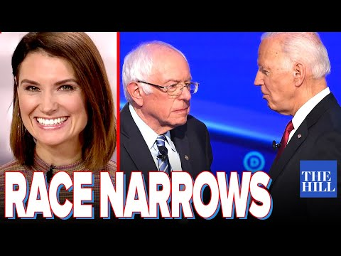 Krystal Ball: Race narrows to Biden v. Bernie as Warren plummets