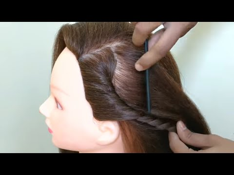 Easy hairstyles - QUICK & EASY HAIRSTYLE  CUTE GIRLS OUT GOING HAIRSTYLE
