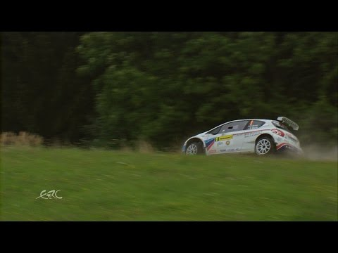 FIA ERC Barum Czech Rally Zlín - Breen crash from helicopter