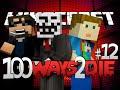 Minecraft 100 Ways To Die   Pink Hair Dye Challenge [12]