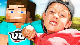 This squeaker gets extremely mad when he runs into Herobrine on Minecraft! Enjoy the Minecraft trolling! Smack the HELL out of that Like button to show your ...
