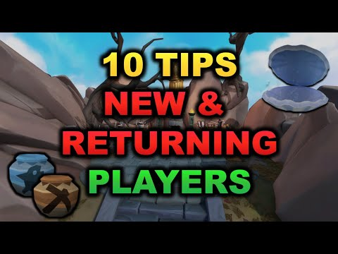 10 Tips For New & Returning Players 2020 [RuneScape 3]