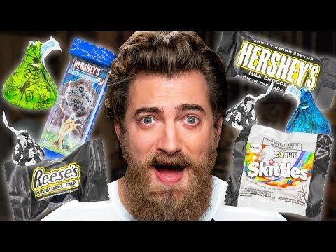 Special Halloween Edition Candy Taste Test