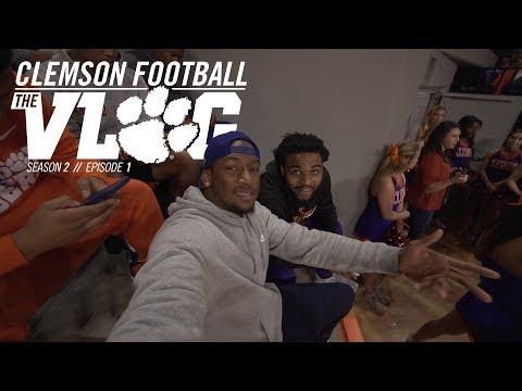 Clemson Football || The Vlog (Season 2, Ep 1) (видео)