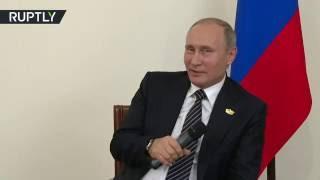 Путин пошутил об отключении света во время своей пресс-конференции