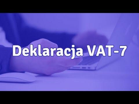 Deklaracja VAT-7 - co to jest i jak wypełnić VAT-7?