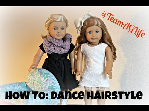 How To: Cute and Fun Hairstyle for a Dance! #TeamAGLife Ep. 29