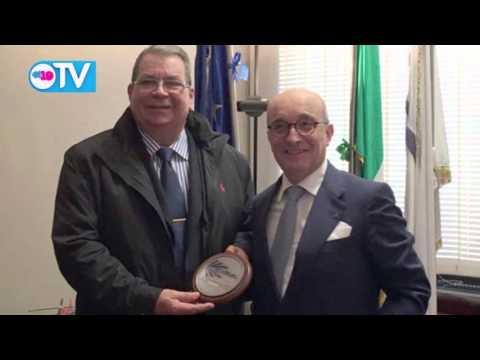 Fructífero encuentro de vicepresidente Omar Hallesleven con empresarios italianos