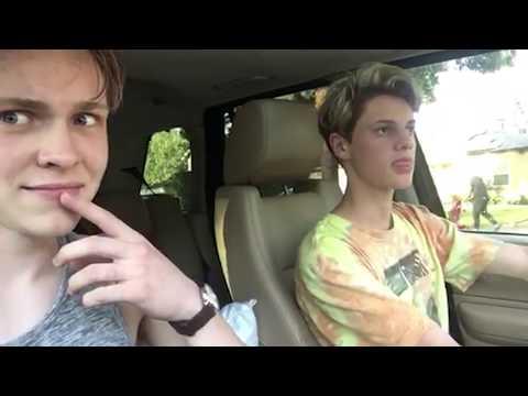 sometimes you just gotta steal a car | Jace Norman Vlog