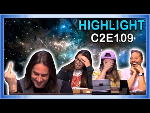 Turtles, Thongs, and Unicorns   Matt flips off the party   Critical Role C2E109 Highlights
