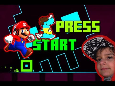 Super Mario Run, Corre Desnecessauro, Geometry Dash subzero