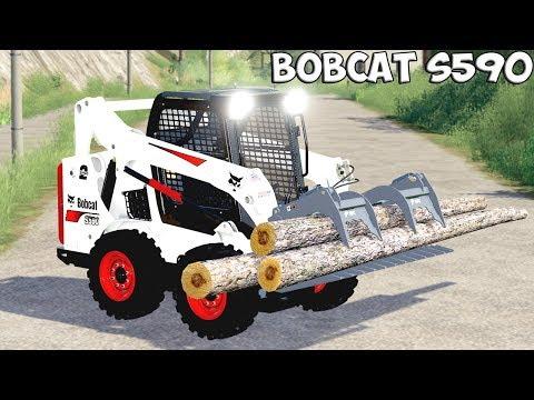 Bobcat 590 and Bobcat SkidSteer v1.0