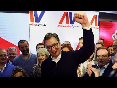 Νέος πρόεδρος της Σερβίας ο Αλεξάνταρ Βούτσιτς
