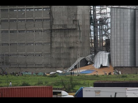 One person dead, 4 missing in Industrial Area silo collapse