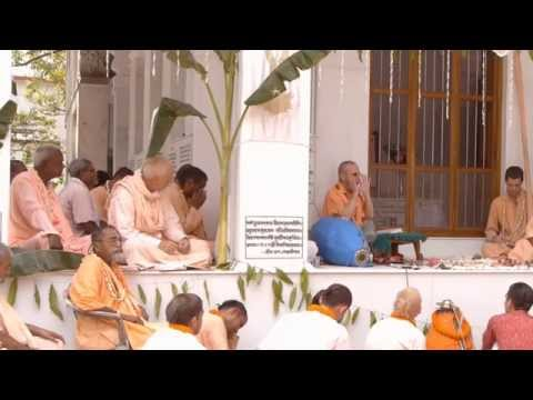 Disappearance Festival of Srila Gurudev 2011 Part 1
