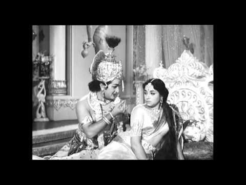 Sri Krishna Tulabharam Full Length Movie Parts:03/10 |NTR,Anjali,Jamuna