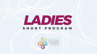 LIVE 🔴 | Ladies Short Program | ISU European Figure Skating Championships | #EuroFigure